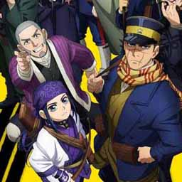 Artist: Satoru Noda. This is from a manga series I'm reading right now called 'Golden Kamuy.' The art isn't very different from a lot of manga of the same type, but as far as manga style goes, this would be the closest to the kind of style I'd go with, where the characters aren't as iconographic as a lot of manga.